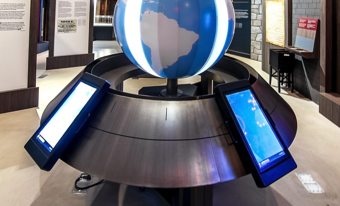 Magna Carta Globe Base