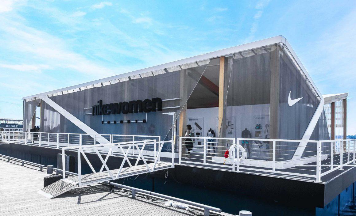 NIKE Crystal Colliseum Barge