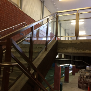 St.Clair TTC station Railings
